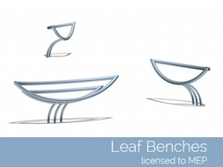 Leaf Benches