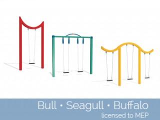 Bull Seagull Buffalo