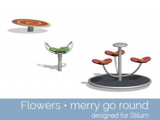 Flowers – merry go round
