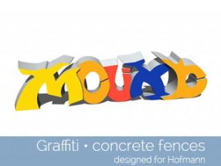 Graffiti Concrete Fences