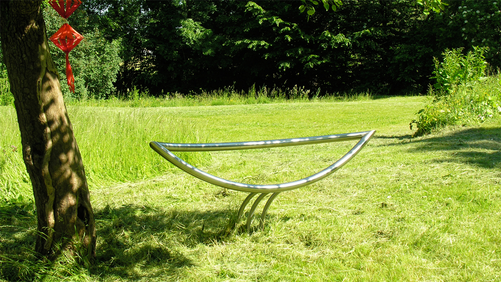 Leaves_Stainless Steel Bench_Markus Ehring_03