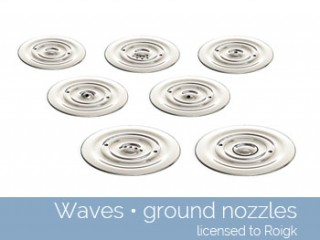 Waves Ground Nozzles